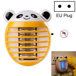Mignon ménage moustique lampe LED lumière anti-moustique insecte Zapper Muggen tueur nuit lumière coloré UE Plug (Orange) SH002C343-20