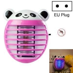 Mignon ménage moustique lampe LED lumière anti-moustique insecte Zapper Muggen tueur nuit lumière coloré UE Plug (Rouge) SH002D521-20