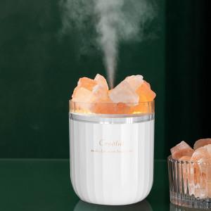 Humidificateur de sel de cristal A07 Humidificateur d'aromathérapie domestique (blanc) SH401A262-20