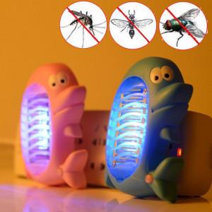 Lampe de tueur de moustique dauphin mignon électrique mouche insecte moustique tueur LED lampe piège, livraison de couleur aléatoire SH5201446-20
