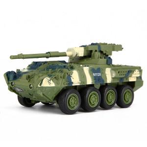 Creative 8021 véhicule d'artillerie télécommande contrôlée réservoir militaire modèle jouet voiture (vert) SC122G399-20
