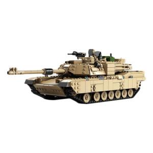 KAZI Century Military M1A2 2 en 1 jouets pour chars militaires Abrams 1:28 et 1:18 Blocs de construction Hummer Cars, série d'âge: à partir de 6 ans SH18221360-20
