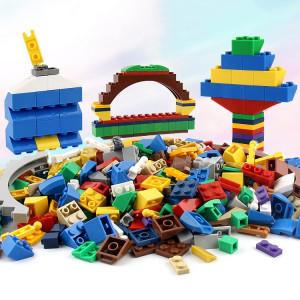 1000 dans 1 blocs de construction matériels ABS ABS de jouets intelligents avec 4 personnes aléatoires de jouet, livraison aléatoire de couleur SH21531091-20