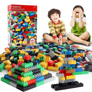 1000 dans 1 blocs de construction matériels ABS de jouets de DIY intelligents, livraison aléatoire de couleur SH2156541-20