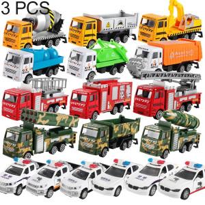 Véhicules de génie de construction de jouet de voiture modèle 3 PCS, livraison de style aléatoire SH2158490-20