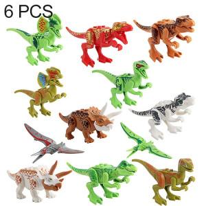 6 en 1 jouets intelligents de bricolage ABS de jouets intelligents dinosaures de blocs, livraison aléatoire de style SH21591922-20