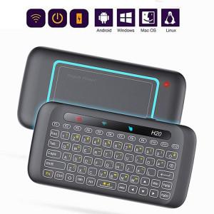 H20 2,4 GHz Mini Smart Touch Multi-Touch Clavier Sans Fil SH56161696-20