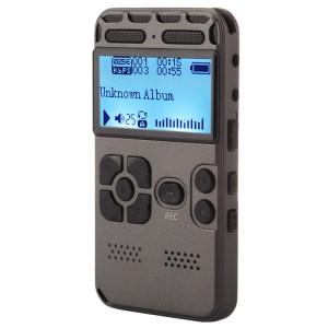 Enregistreur vocal audio portable VM181, 8 Go, lecture de musique de soutien / carte TF / LINE-IN et enregistrement téléphonique SH190740-20