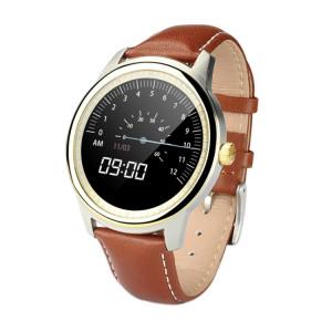 DOMINO DM365 1,33 pouces sur la cellule IPS Full View écran tactile capacitif MTK2502A-ARM7 Bluetooth 4.0 Smart Watch Téléphone, soutien Facebook / WhatsApp / Raise à l'écran brillant / Flip main pour Switch SD432J1768-20
