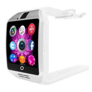 Q18 1.54 pouces TFT écran MTK6260A 360MHz Bluetooth 3.0 Smart Bracelet Montre Téléphone avec podomètre et moniteur de sommeil et calculatrice et rappel d'appel et SMS / Wechat Alertes & Affichage de l'horloge SQ881W326-20