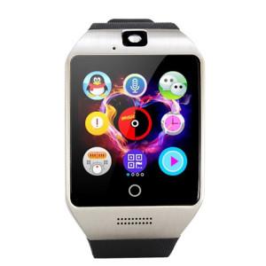 Q18S 1.54 pouces IPS écran MTK6260A Bluetooth 3.0 Smart Watch Téléphone, podomètre / Rappel sédentaire / Moniteur de sommeil / Anti-Perte / Caméra à distance / GSM / 0,3 M Caméra (Noir + Argent) SQ41BS990-20