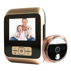 M530 3.0 pouces TFT affichage 3.0MP caméra vidéo numérique visionneuse de porte, carte TF de soutien (32 Go Max) et vision nocturne infrarouge (Bronze) SM20GT663-20