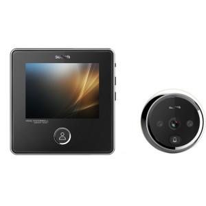 SNDD2 3,0 téléspectateurs de porte peephole de caméra de sécurité de l'écran 3.0MP de pouce, vision nocturne infrarouge de soutien SH003499-20
