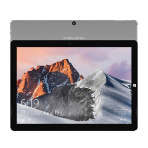Tablette Teclast X6 Pro 2-en-1, 12,6 pouces, 8 Go + 256 Go, Windows 10 Familiale, Intel Core M 1.0-2.6GHz, Prise en charge d'OTG & Bluetooth & Dual Band WiFi & HDMI, sans clavier (Noir + Gris) ST0226734-20