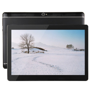 Appel Tablet PC 4G, 10,1 pouces, 2 Go + 32 Go, Android 7.0 MTK6592 Octa Core 1.3GHz Double SIM, WiFi, GPS, BT, OTG, avec étui en cuir (Noir) SA650B1144-20