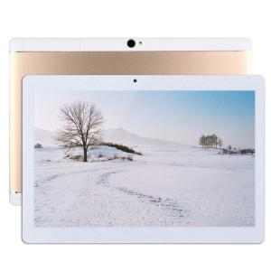 Appel Tablet PC 4G, 10,1 pouces, 2 Go + 32 Go, Android 7.0 MTK6592 Octa Core 1.3GHz Double SIM, WiFi, GPS, BT, OTG, avec étui en cuir (or) SA650J1446-20