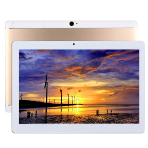 10,1 pouces Tablet PC, 2 Go + 32 Go, Android 6.0 MTK8163 Quad Core A53 64 bits 1,3 GHz, OTG, WiFi, Bluetooth, GPS (or) S1651J1413-20