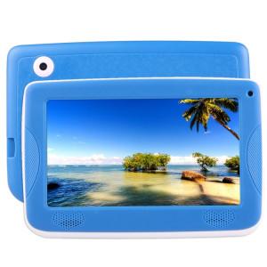 Tablette d'enseignement pour enfants Astar, 7.0 pouces, 512 Mo + 4 Go, Android 4.4 Allwinner A33 Quad Core, avec étui en silicone (bleu) ST800L335-20