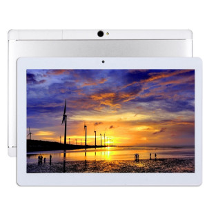 Appel téléphonique 4G, Tablet PC, 10,1 pouces, 2 Go + 32 Go, Android 7.0 MTK6753 Cortex-A53 Octa Core 1,5 GHz, double SIM, GPS de soutien, OTG, WiFi, Bluetooth (blanc) SA911W1440-20