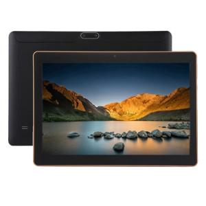 Appel Tablet PC 4G, 10,1 pouces, 2 Go + 32 Go, Android 7.0 MTK6592 Octa Core 1.3 GHz, double SIM, GPS de soutien, réseau: 4G, avec étui en cuir livraison aléatoire couleur (Noir) SA998B1668-20