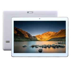 Appel Tablet PC 4G, 10,1 pouces, 2 Go + 32 Go, Android 7.0 MTK6592 Octa Core 1.3GHz, double SIM, GPS de soutien, réseau: 4G, avec étui en cuir livraison aléatoire couleur (Argent) SA998S1519-20