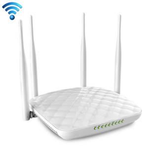 Tenda FH456 sans fil 2.4GHz 300Mbps routeur WiFi avec 4 * 5dBi Antennes externes (blanc) ST053W1868-20