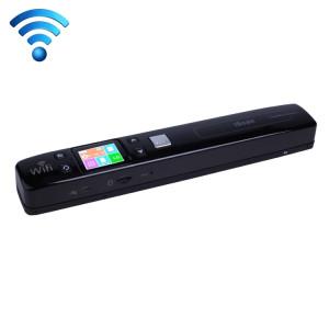 iScan02 WiFi Double Portable Mobile Document Scanner portatif avec écran LED, soutien 1050DPI / 600DPI / 300DPI / PDF / JPG / TF (Noir) SI003B8-20