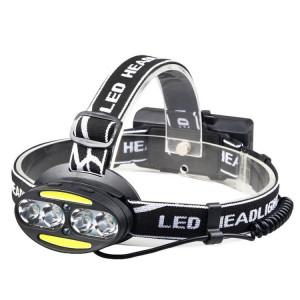 YWXLight étanche XML-T6 COB 8LED phares de phares extérieurs charge USB rechargeable phares lumière rouge SY88221175-20