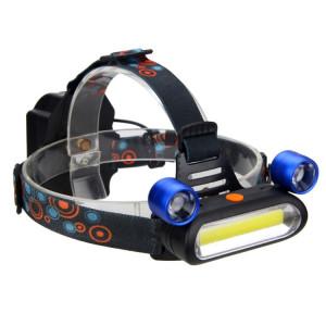 YWXLight Projecteur rechargeable à 3 modes et à luminosité réglable de 2000 lumens (bleu) SY886L1214-20