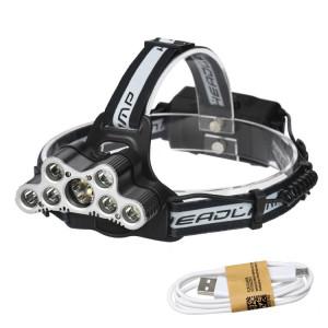 YWXLight 9LEDs Rechargeable par USB 6 modes d'éclairage Eclairage avant étanche SY70731627-20