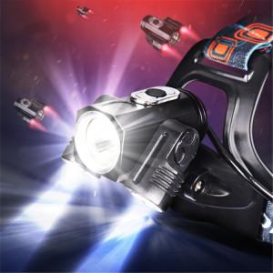 YWXLight T6 6000K Lampe frontale rechargeable à LED avec torche frontale rotative à 180 degrés SY15281987-20