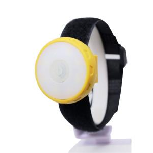 YWXLight Mini Portable Wrist Light Veille Nuit Lumière Rouge et Blanche Lumière 4 Mode SY65421204-20