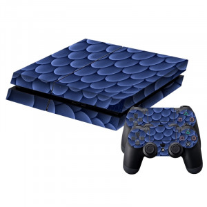 Blue Balls Pattern Sticker de peau de protection Sticker de peau pour PS4 Game Console SB785J-20