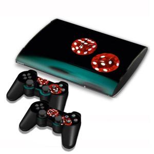 Autocollants pour autocollants série série pour console de jeux PS3 SA004Z-20