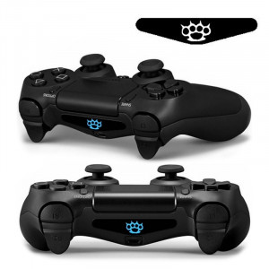 Autocollant autocollant 4 PCS Cool Light Bar Sticker pour PlayStation 4 Controller DualShock 4 SA0122-20
