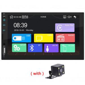 Lien USB de radio stéréo de voiture de 7 pouces HD pour le lecteur multimédia d'Apple CarPlay avec la caméra C5697V9364037-20