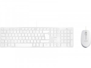Novodio Touch Keyboard Argent et Optical Mouse Mac Kit clavier et souris USB PENNVO0019D-20