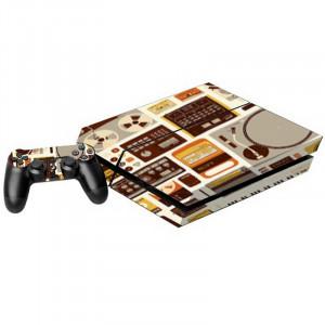 Autocollants pour autocollants pour console de jeux PS4 SA016Q-20