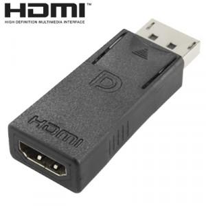 Adaptateur vidéo femelle DisplayPort Male to HDMI (noir) SA0260-20