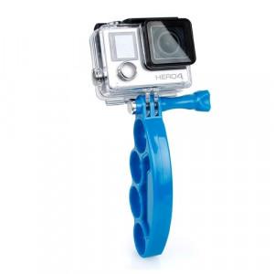 TMC Knuckles Fingers Grip avec vis pouce pour GoPro Hero 4 / 3+ / 3/2 (Bleu) ST437L4-20