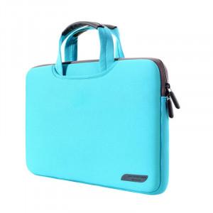 Sac à main portatif portable portable 12 pouces pour MacBook, Lenovo et autres ordinateurs portables, taille: 32x21x2cm (vert) SS511G-20