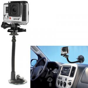 Support de support de ventouse de voiture pour GoPro Hero 4 / 3+ / 3/2/1 / Caméra SS28505-20