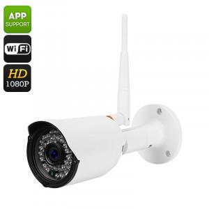 Plein caméra IP sans fil HD 1 / 2,5 pouces CMOS Full HD, CUT IR, détection de mouvement, 1080P, Support téléphonique à distance, 30M vision nocturne CF2864-20