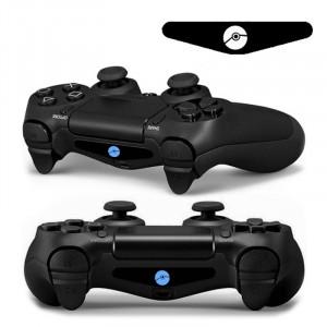 Autocollant autocollant 4 PCS Cool Light Bar Sticker pour PlayStation 4 Controller DualShock 4 SA0150-20