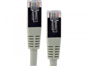 Câble ethernet RJ45 FTP catégorie 6 blindé gris (3 m) CABGEN0176-20