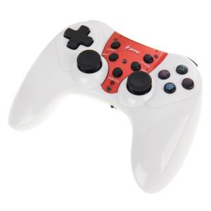 JITE Innovative CX-508 5 en 1 Dual Shock2 2.4GHz Wireless Gamepad avec 3 couleurs remplaçable avant pour Play Station PS3 / PS2 / PS1 Game Controller SJ2324-20