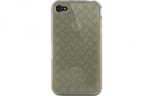 Novodio Pure TPU Case Grey Etui pour iPhone 4 AMPNVO0228-20