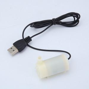 Câble USB 1M DC Mute 3V5V6V Mini pompe à eau submersible horizontale blanc C0O9Z311492-20