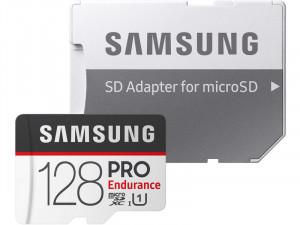 Samsung Carte microSD PRO Endurance 128 Go + adaptateur SD CSTSAM0091-20