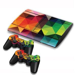 Autocollants pour autocollants série série pour console de jeux PS3 SA004R-20